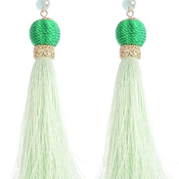 Emerald Rain Earrings