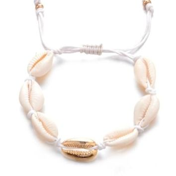 Shell Decor Anklet