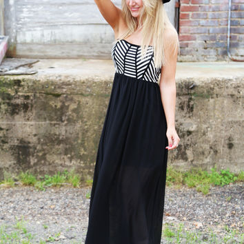 Stripe Blocked Maxi