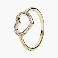 Women's PANDORA 'Captured Heart' Ring