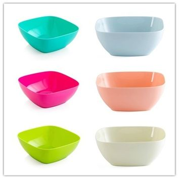 Fruit Salad Bowl Fruit Dishes Plates Dish Leaf Plant Snack Tray Dried Fruit Plate Stackable Plates