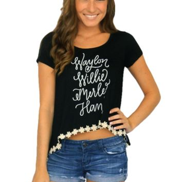 "JUDITH MARCH ""Waylon, Willie, Merle, Hank"" Top 