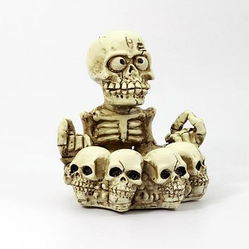 Skull ashtray creative gifts home furnishings
