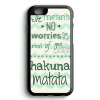 Quote Hakuna Cute iPhone 4s iphone 5s iphone 5c iphone 6 Plus Case | iPod Touch 4 iPod Touch 5 Case