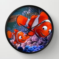 Nemo Wall Clock by Max Jones