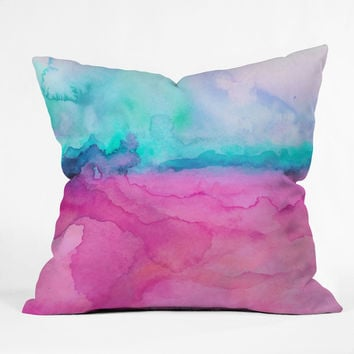 Jacqueline Maldonado Tidal Color Throw Pillow