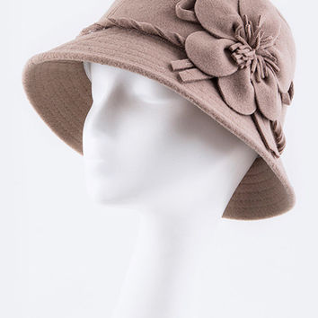 Flower Bucket Hat