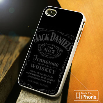 Jack Daniels Tennessee Whiskey Grey iPhone 4(S),5(S),5C,SE,6(S),6(S) Plus Case