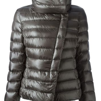 Herno glossy quilted jacket
