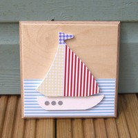 Little Boat Plaque | Luulla