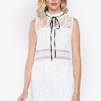 Coveted Crochet Dress
