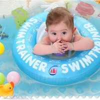 Baby Swim Ring PVC Infant Shoulder Strap FLoating ring Bally Pad Protection Baby Neck Ring 0-4years Child  Swim Pool Accessories