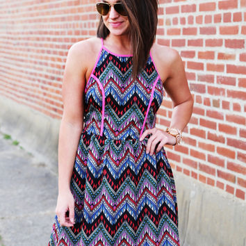Dreaming Of Chevron Dress
