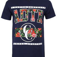 A Day To Remember T Shirt  ADTR Floral