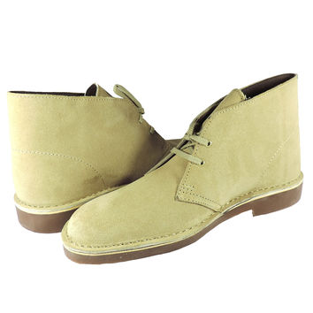Clarks Men's Bushacre 2 Desert Boot Maple Suede 7 D(M) US '