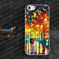 the best  iphone 5 case,  iphone 5 cover ,cases for iphone 5,the best case for iphone 5 with  rain road printing