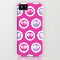 Valentine Hearts iPhone & iPod Case by markmurphycreative