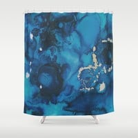 Take a Swim Shower Curtain by duckyb