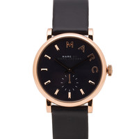 Marc by Marc Jacobs Baker Watch in Navy & Gold