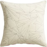 """Wing It 18"""" Pillow With Feather-down Insert"""