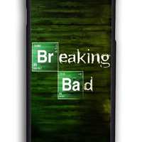 Breaking Bad On Wood for Iphone 6 Hard Cover Plastic
