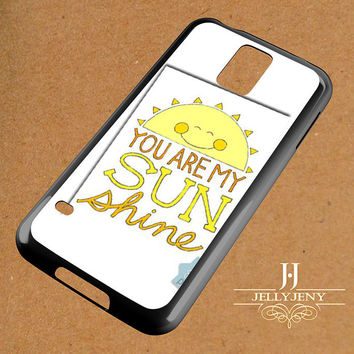 You Are My Sunshine Coloring Dhim Samsung Galaxy S3 S4 S5 S6 S6 Edge Case | Galaxy Note 3 4 Case
