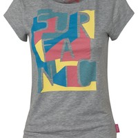 Surfanic Womens Laguna Tshirt Grey