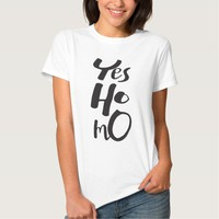 Yes Homo LGBT Pride Tees