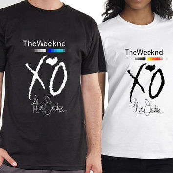 the weeknd xo tshirt for mens and womens heppy feed