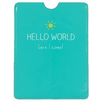 Passport Cover Hello World - Happy Jackson