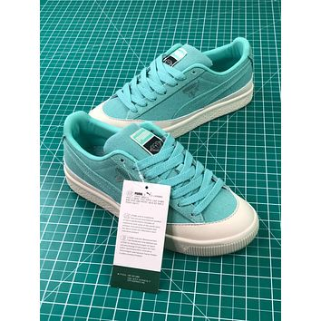 Diamond Supply Co. X Puma Clyde Green Women's Sneakers Shoes - Sale