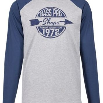 Bass Pro Shops Arrow Graphic Raglan Long-Sleeve Shirt for Men | Bass Pro Shops