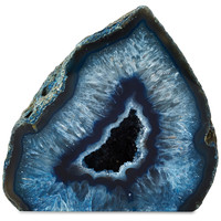 Blue Agate Paperweight, Rocks, Crystals, Minerals & Petrified Wood