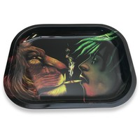 Designed Metal Rolling Tray (Mini) - Animal Spirit