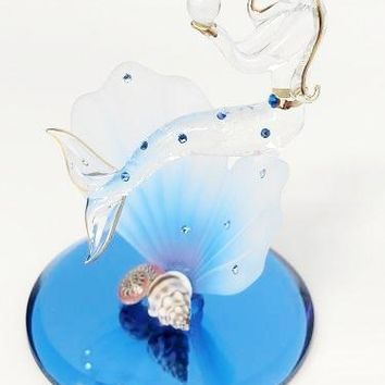 Glass Baron Mermaid Blue Coral