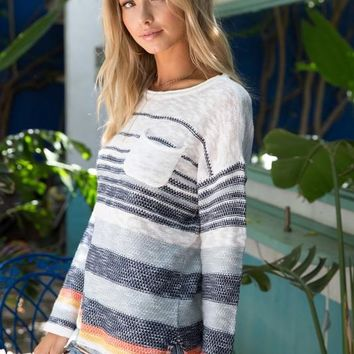 Striped Pullover Summer Sweater
