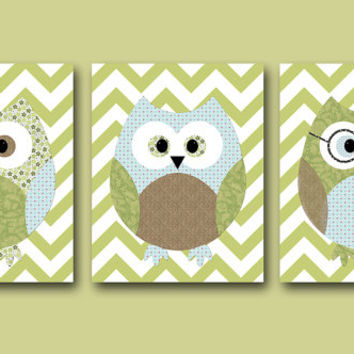 Shop Owl Decor For Baby Boy on Wanelo