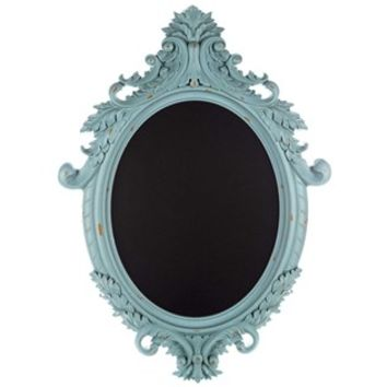 Vintage Blue Ornate Framed Chalkboard | Shop Hobby Lobby