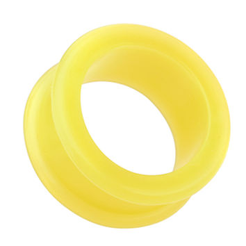 Flexible Silicone Double Flared Ear Gauge Tunnel Plug