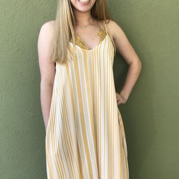 Sunshine Dress- Golden Yellow