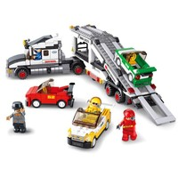 Vehicle Transport Truck - Lego Compatible Toy