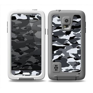 The Traditional Black & White Camo Skin Samsung Galaxy S5 frē LifeProof Case