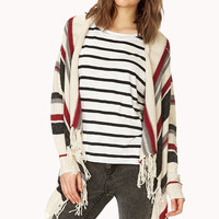 Rustic Striped Cardigan