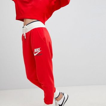 Nike Archive Sweatpants In Red at asos.com