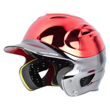 Under Armour UABH-110CTT Youth Chrome Two Tone Batting Helmet