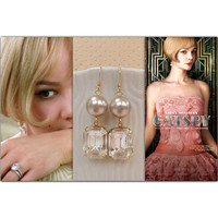 The Great Gatsby Inspired Earrings