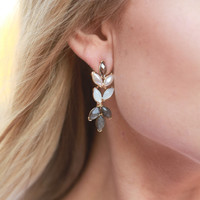 Classic Grey Earrings