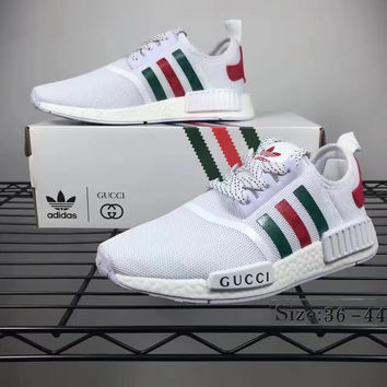 adidas nmd white gucci
