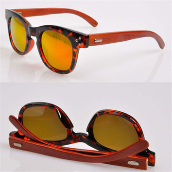handmade red wood classic sunglasses gift 27