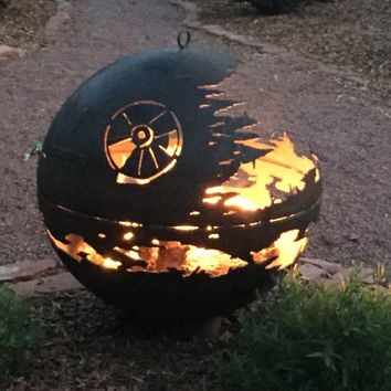 Custom Designed Death Star Fire Pit